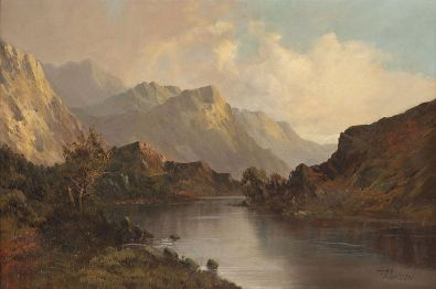 1024px-Scottish_painter_-_Scottish_lake_landscape_in_front_of_mountains